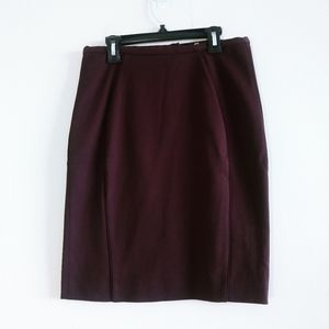 H&M Woman Purple Pencil Skirt Size 6